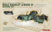 SPS-017 Meng 1/35 Интерьер для U.S. CAVALRY FIGHTING VEHICLE M3A3 BRADLEY w/Busk III INTERIOR SET