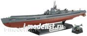 78019 Tamiya 1/350 Японская подводная лодка I-400 с подставкой, фототравление, 3 самолета Seiran