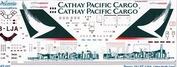 748-001 Ascensio 1/144 Декаль на самолет боенг 747-400 (catay pasific kargo)