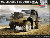 35806 Mirror-models 1/35 U.S. Diamond T 972 Dump Truck Late open cab