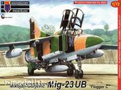 """KPM0141 Kovozavody Prostejov 1/72 MiG-23UB """"Flogger C"""""""