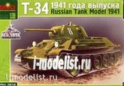 3512 Макет 1/35 Танк Т-34 1941 года выпуска
