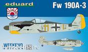 84112 Eduard 1/48 German world war II fighter Fw 190A-3