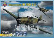 4805 ModelSvit 1/48 German Messerschmitt BF-109C-3 fighter