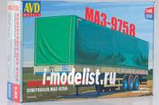 7034AVD AVD Models 1/43 МАЗ-9758