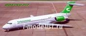 14415 PasModels 1/144 Модель самолета Boeing-717 Turkmenistan (смола)