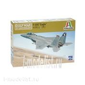 2763 Italeri 1/48 САМОЛЕТ F-15A/C STRIKE EAGLE -ВОЙНА В ЗАЛИВЕ