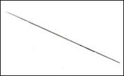 5148 Jas Игла для аэрографа, длина 78 мм., 0,8 мм