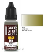 1717 Green Stuff World Flush color ANCIENT SEPIA 17 ml