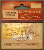 AMLE 50 005 AML 1/48 photo-Etching Seatbelts Luftwaffe WWII-Fighters