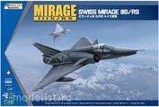 K48058 Kinetic 1/48  Swiss Mirage IIIS/RS