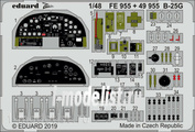 49955 Eduard 1/48 Фототравление для B-25G интерьер
