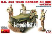 35014 MiniArt 1/35 Американский джип