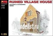 MiniArt 1/35 35520 Ruined village house