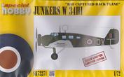 "SH72271 Special Hobby 1/72 Junkers W-34Hi ""RAF Captured Hack Plane"""