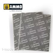 AMIG8558 Ammo Mig Шлифовальная губка (280) / SANDING SPONGE SHEET (280)