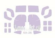 72230 KV Models 1/72 Набор окрасочных масок для остекления модели Каммов-26