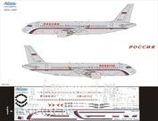 320-015 Ascensio 1/144 Декаль для airbu A320 (Россия)