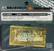 Th35005 Afvclub 1/35 Wwii German Sd.Kfz.11 3T Half Truck early version (for Af35040)