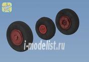NS72084-a North Star 1/72 Wheels set for YaK-52 No mask series