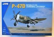 K3208 Kinetic 1/24 P-47D REPUBLIC THUNDERBOLT