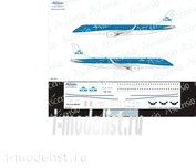 190-010 Ascensio 1/144 Декаль на самолет Embraer 190 (KLM Cityhopper)