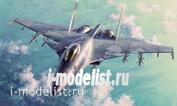 01667 Я-моделист клей жидкий плюс подарок Trumpeter 1/72 Russian Flanker D