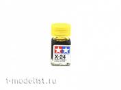 80024 Tamiya X-24 Clear Yellow (Прозрачно-желтая) Эмалевая краска