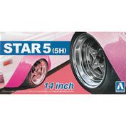 05439 Aoshima 1/24 Star 5 (5H) 14 Inch
