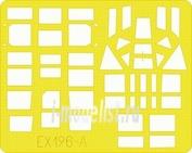 EX196 Eduard 1/48 Маска для Anson