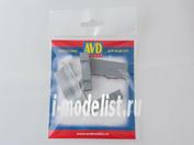 AVD143011102 AVD Models 1/43 Армейский ящик тип-3, (2040x490x300 мм), 2 шт