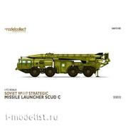 UA72185 Modelcollect 1/72 Soviet 9P117 Strategic Missile Launcher SCUD C
