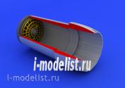 672045 Edward 1/72 add-on Kit F-16CJ Block 50 exhaust nozzle