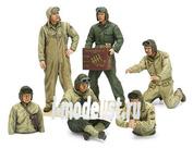 35347 Tamiya 1/35 Набор амер.танкистов (6 фигур)