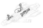 4149 CMK 1/48 Набор дополнений JAS 39 Gripen - undercarriage set for ITA