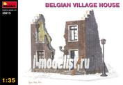 35015 MiniArt 1/35 Бельгийский деренский дом