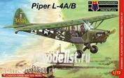 KPM0040 Kovozavody Prostejov 1/72 PIPER L-4A/B