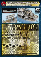 AG35050 AFVClub 1/350 Набор фототравления для US NAVY TYPE 2 LST-1 CLASS LANDING SHIP