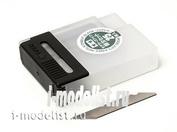74075 Tamiya Набор запасных лезвий (25шт.) для модельного ножа (код 74040)