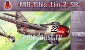 J72042 Kpmodels 1/72 MiG-15 Bis/ Lim-2/ Sb