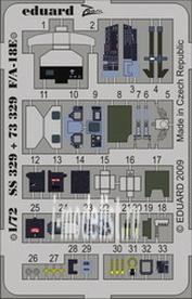 SS329 Eduard 1/72 Цветное фототравление для F/ A-18E S. A.