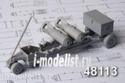 AMC48113 Advanced Modeling 1/48 Тележка для транспортировки 50-100 кг авиабомб