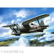 72112 Amodel 1/72 Биплан Поликарпов И-190