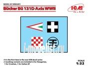 D3201 ICM 1/32 Декаль Bücker Bü 131D Axis WWII