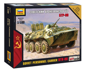 7401 Звезда 1/100 Советский бронетранспортер БТР-80