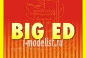 BIG4976 Eduard 1/48 a Complete set of photo-etched parts for aircraft Ilyushin Il-2M3