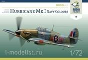 70022 ArmaHobby 1/72 Самолет Hurricane Mk I Navy Colours Model Kit