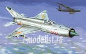J72082 Kpmodels 1/72 MiG-21MF Fishbed in Vietnam War