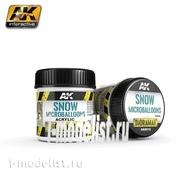 AK8010 AK Interactive Snow Microballoons 100ml (Имитация тающего или
