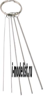 BD-431 Fengda Набор для очистки каналов аэрографа (краскапульта)